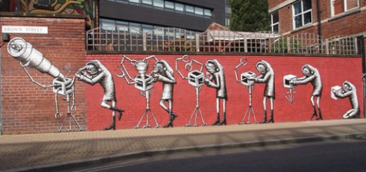 Incredible Street Art by Phlegm - 12