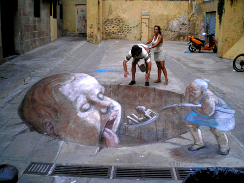 Surreal 3D Street Art Illusions