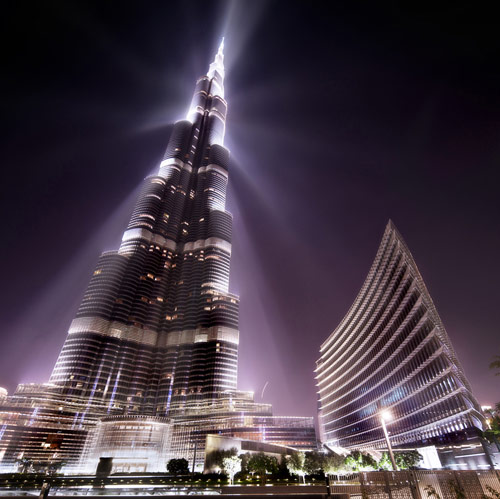 Beacon of Light - Dubai Burj Khalifa