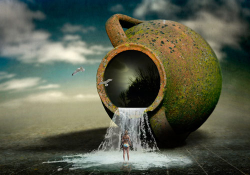 Surreal Photo Manipulation Examples