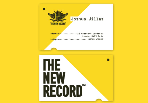 The New Record Card