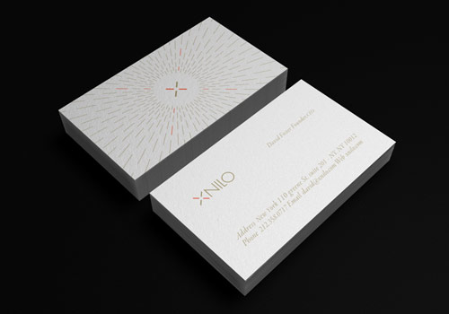 Xnilo Design Studio Business Card