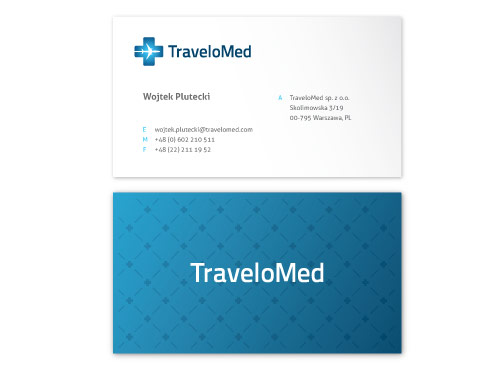 TraveloMed Business Card