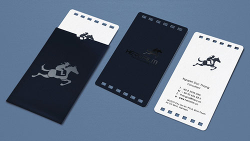 Herofilm Business Card Design
