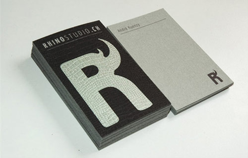 Rhino Studio Business Card