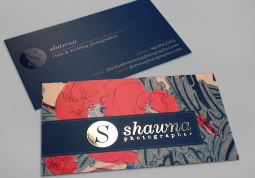 Shawna Photographer Business Card