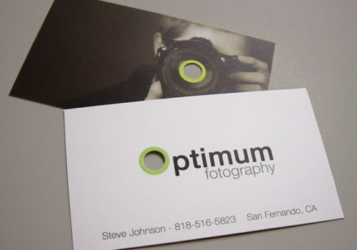 Optimum Fotography Business Card