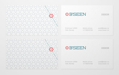 Bseen Business Card Design