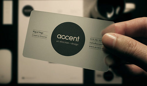 Accent Creative Business Card