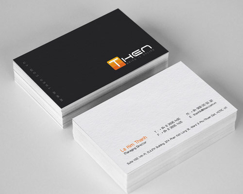 Then Business Card Design