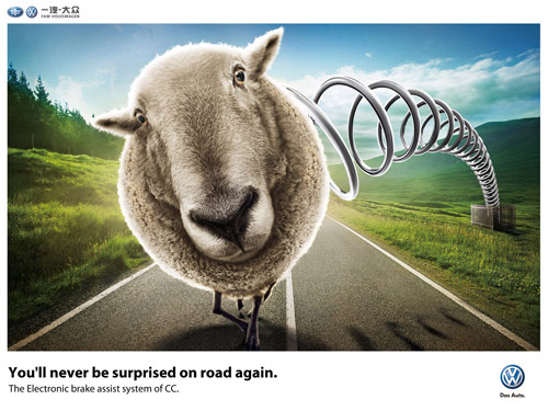 You'll Never Be Surprised On Road Again - Creative Advertisements Using Animals