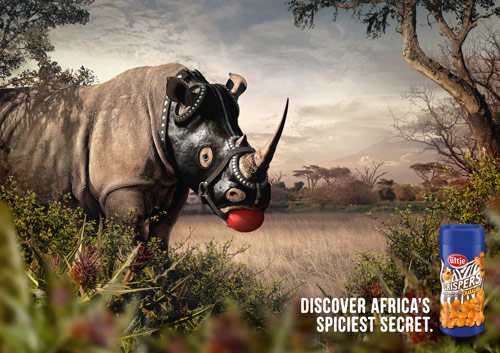 Discover Africas Spiciest Secret - Creative Advertisements Using Animals
