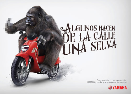 Some Make A Jungle Of The Road - Creative Advertisements Using Animals