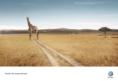 Compact Off Road - Creative Advertisements Using Animals