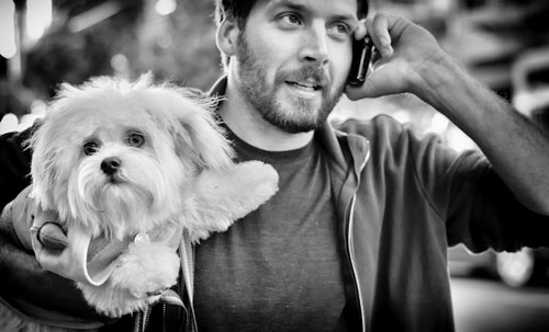 Beautiful Black and White Photography of People and Pets