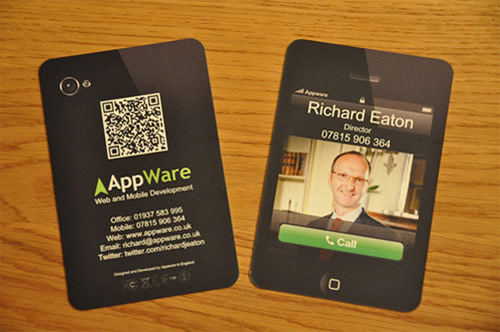 Business Card for AppWare