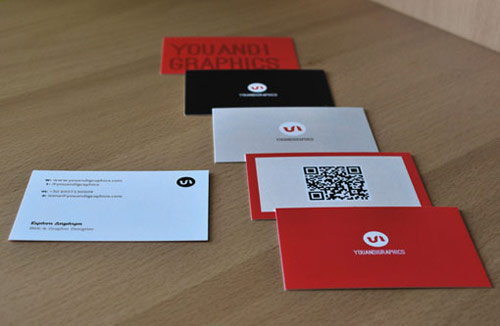 Graphics Designer Business Card Design