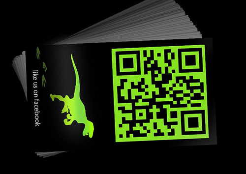 Designosaur Business Card Back