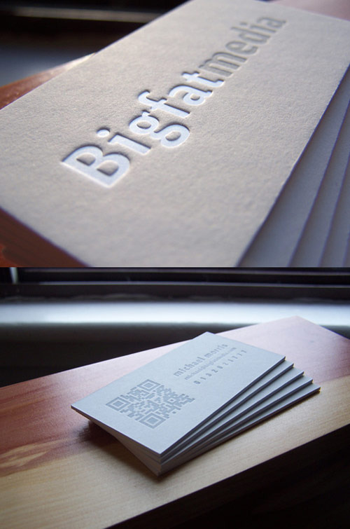 Big Fat Media Business Cards