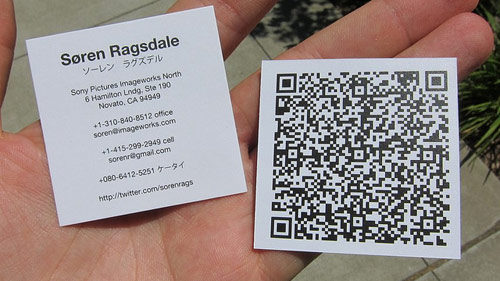 QR-Code Business Card