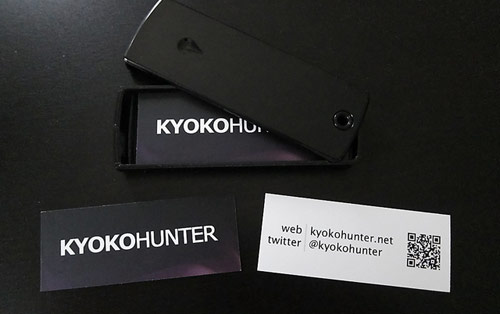 KyokoHunter Name Cards
