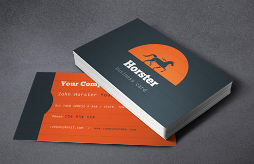 Industrial Business Card PSD