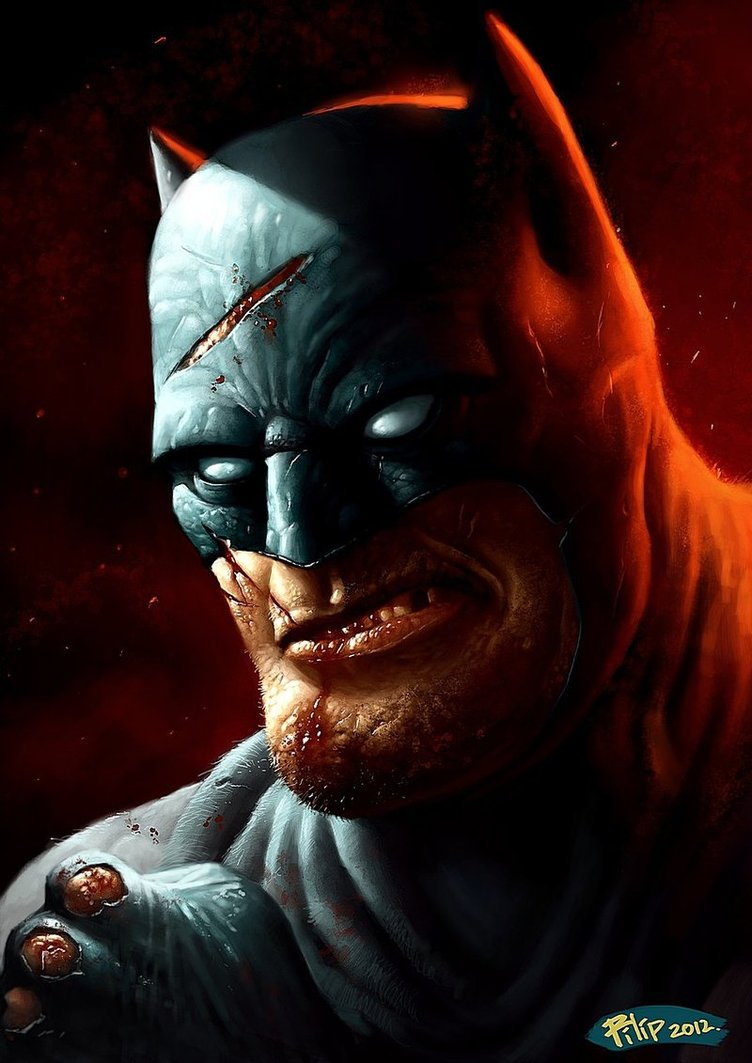 Dark Knight Returns - Gorgeous Digital Paintings