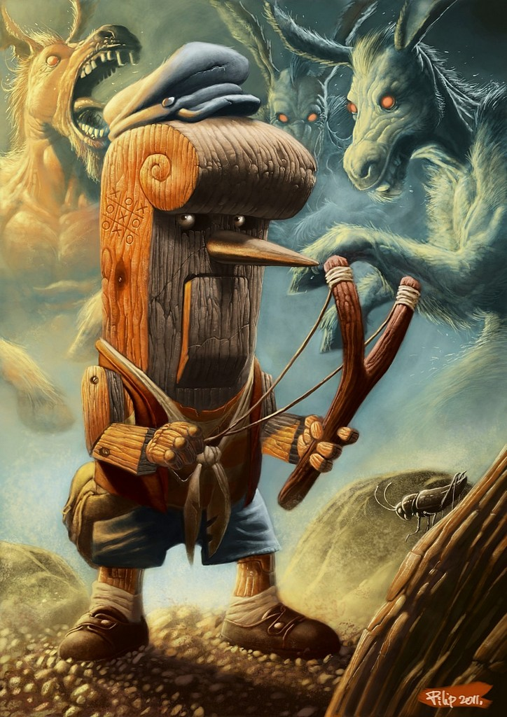 Pinocchio - Gorgeous Digital Paintings