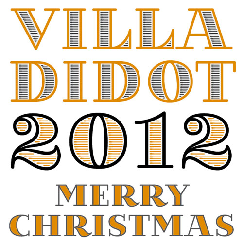 Villa Didot - A Christmas Present - New Free Fonts For Your Designs