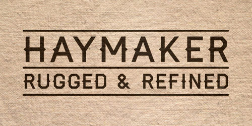Haymaker - New Free Fonts For Your Designs