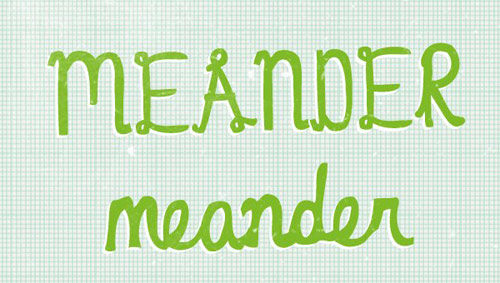 Meander Font - New Free Fonts For Your Designs