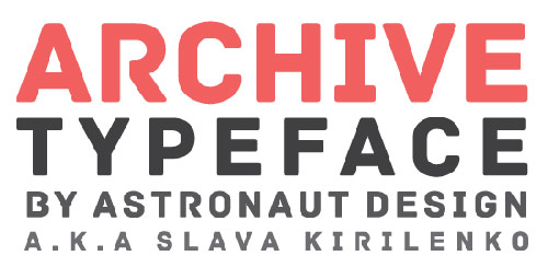 Archive Free Font - New Free Fonts For Your Designs