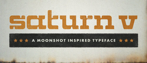 Saturn V Font - New Free Fonts For Your Designs