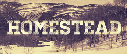 Homestead Free Font - New Free Fonts For Your Designs