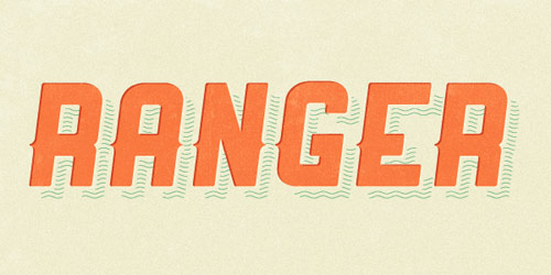 Ranger Font - New Free Fonts For Your Designs