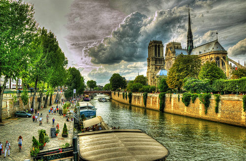 Paris HDR - Beautiful Pictures of Paris, France