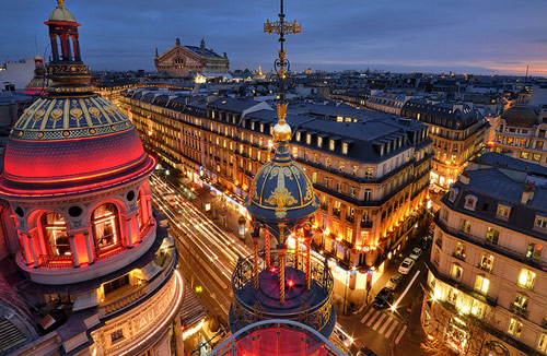 Boulevard Haussmann, Paris - Beautiful Pictures of Paris, France