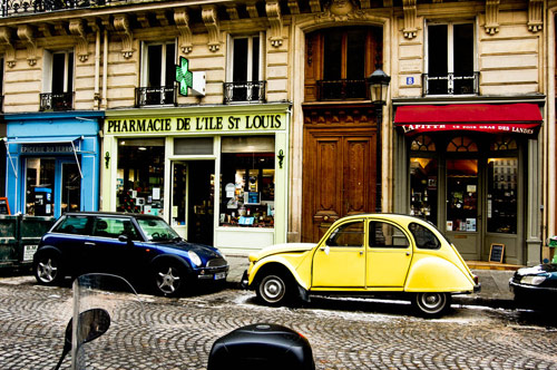 Streets of Paris - Beautiful Pictures of Paris, France