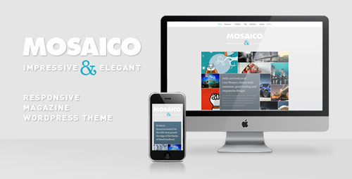 Mosaico - Unique Magazine WordPress Theme - New Portfolio WordPress Themes from ThemeForest