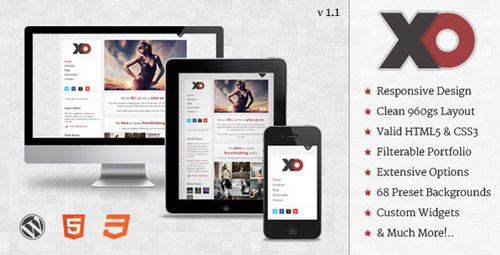 XO - Responsive Creative WordPress Theme - New Portfolio WordPress Themes from ThemeForest