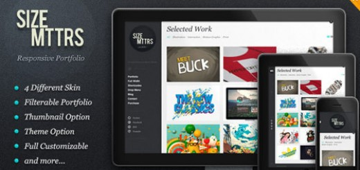 New Portfolio WordPress Themes from ThemeForest