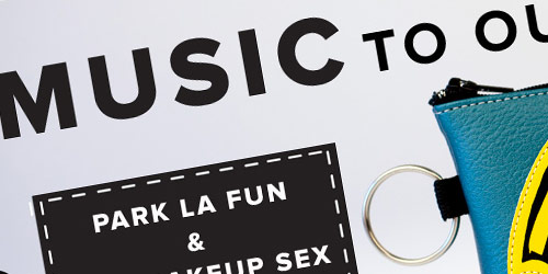 Park La Fun - well design websites with big typography