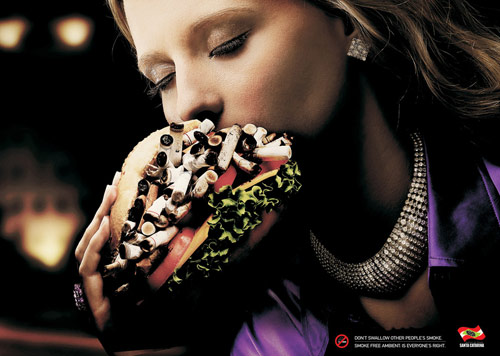 Government of the State of Santa Catarina: Hamburger - controversial print ads