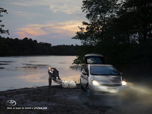 Toyota Prius: Killer - controversial print ads