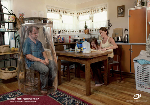 Alac: Kitchen - controversial print ads