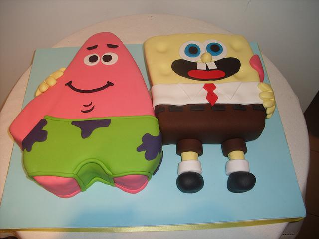 Bolo Sponge Bob e Patrick - Creative Cake Designs