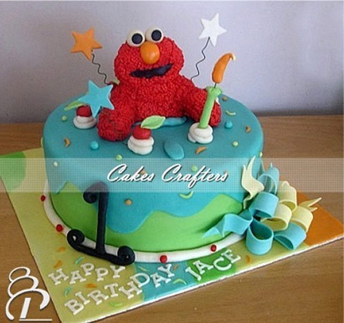 Elmo Cake - Creative Cake Designs