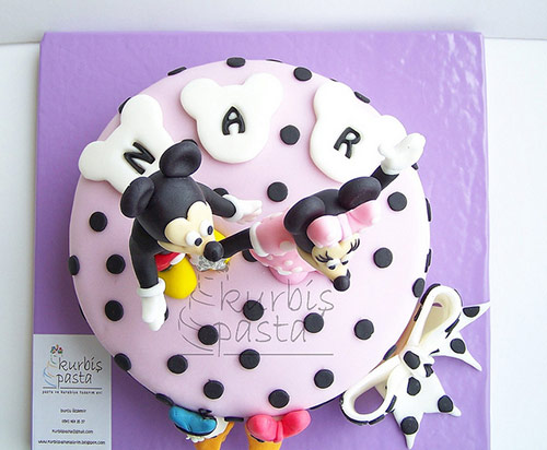 Minnie and Mickey Mouse with Donald and Daisy Cake - Creative Cake Designs
