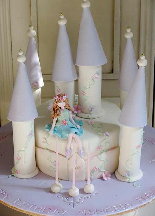 Fairy Castle Cake - Creative Cake Designs