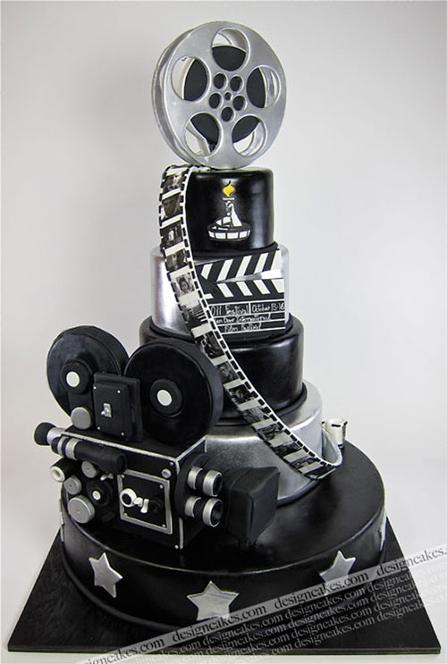 Movie Cake - Creative Cake Designs
